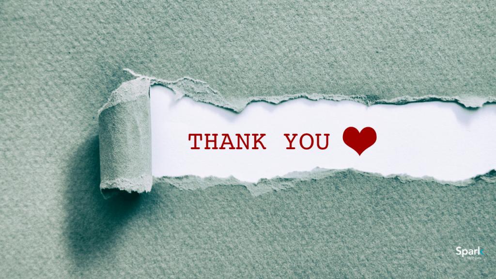 como agradecer em inglês