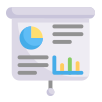 Comprehensive and custom reports for decision making